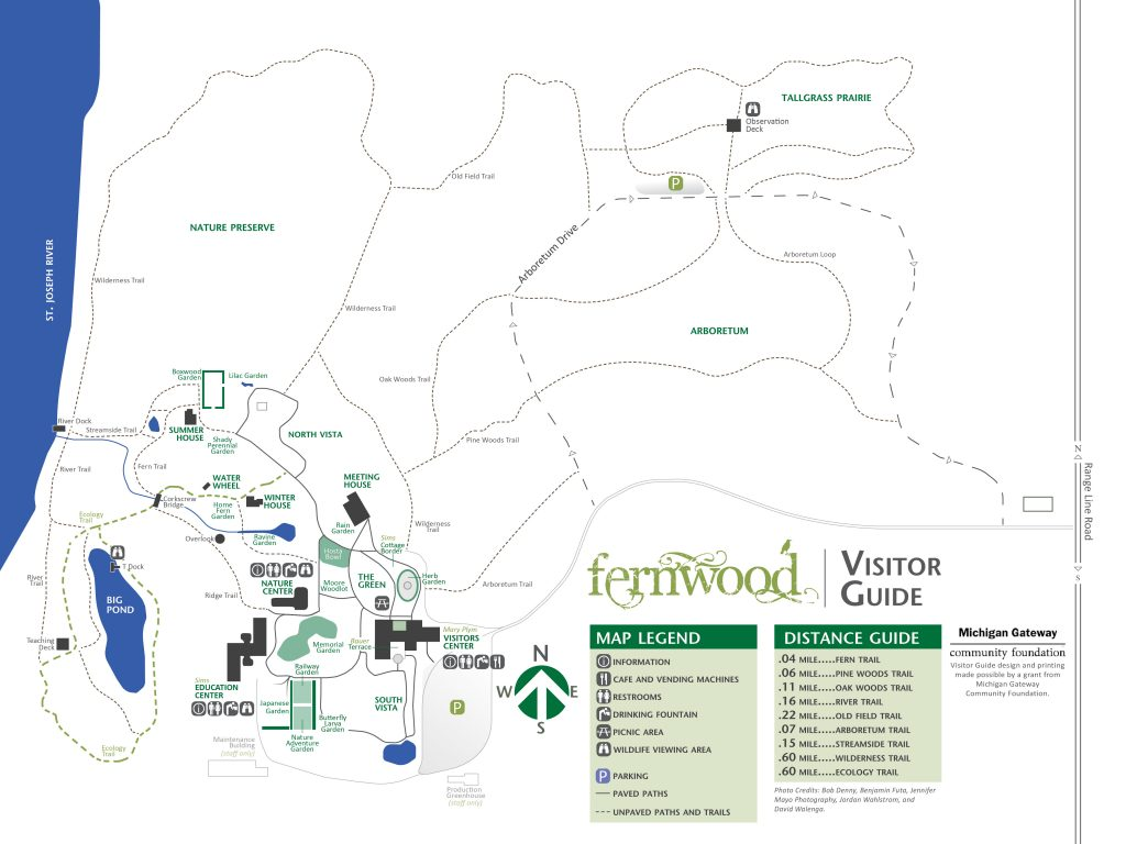 Fernwood Map Niles MI FlowerChick.com