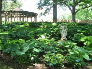 Iowa gardens - Dubuque arboretum and botanical gardens ...