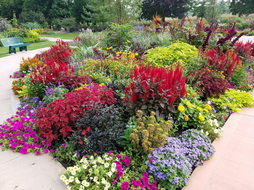 Rotary Botanical Gardens Janesville Wisconsin by Flower Chick