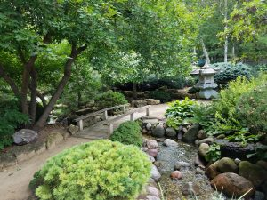 Japanese Garden at Rotary Botanical Gardens in Janesville WI by Flower Chick
