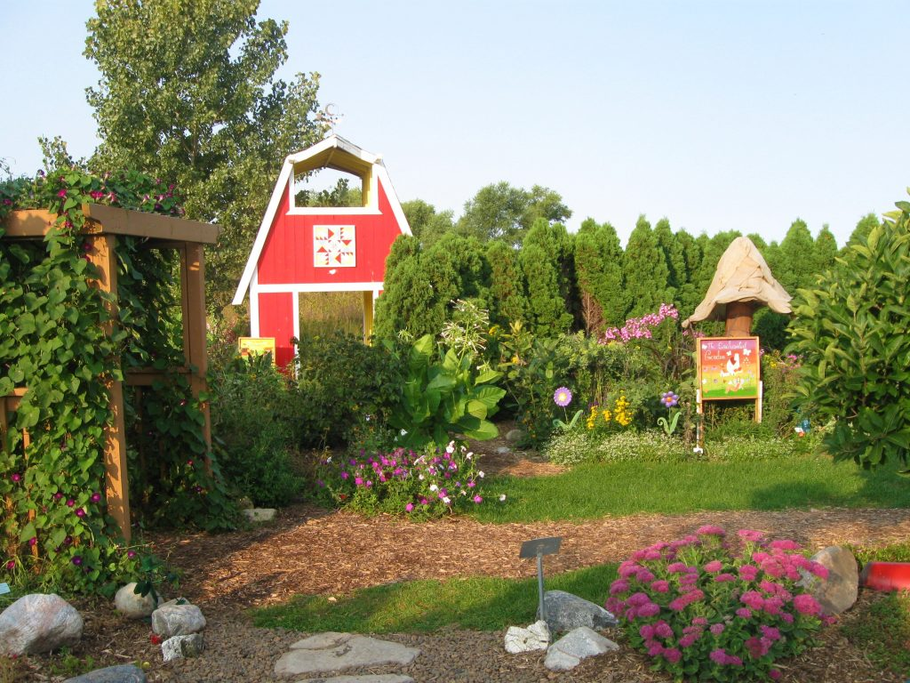Children's Garden at ISU Horticulture Center by FlowerChick.com