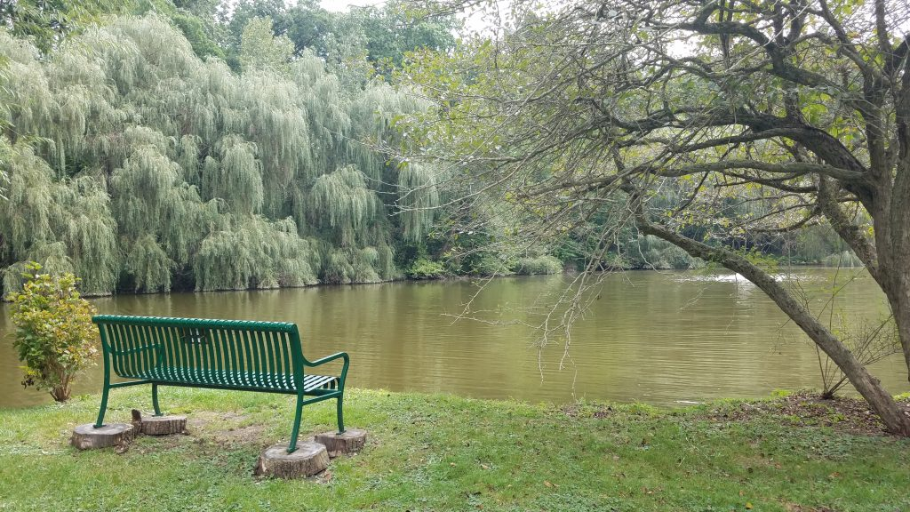 Trail Creek at Friendship Botanic Gardens by FlowerChick.com