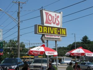 Lou's Drive-In Peoria by FlowerChick.com