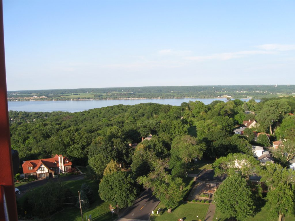 View from the Peoria Heights Tower by FlowerChick.com