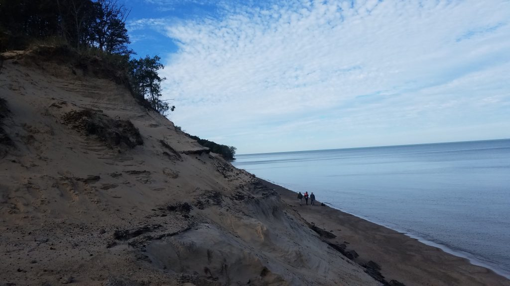 Indiana Dunes and Lake Michigan by FlowerChick.com