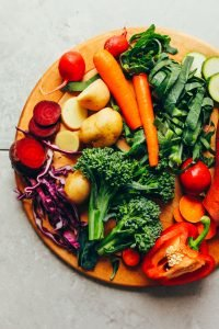 Colorful vegetables by FlowerChick.com