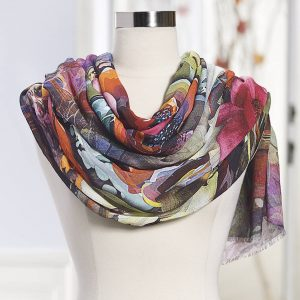 Floral Scarf by FlowerChick.com