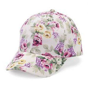Floral Baseball Caps at FlowerChick.com
