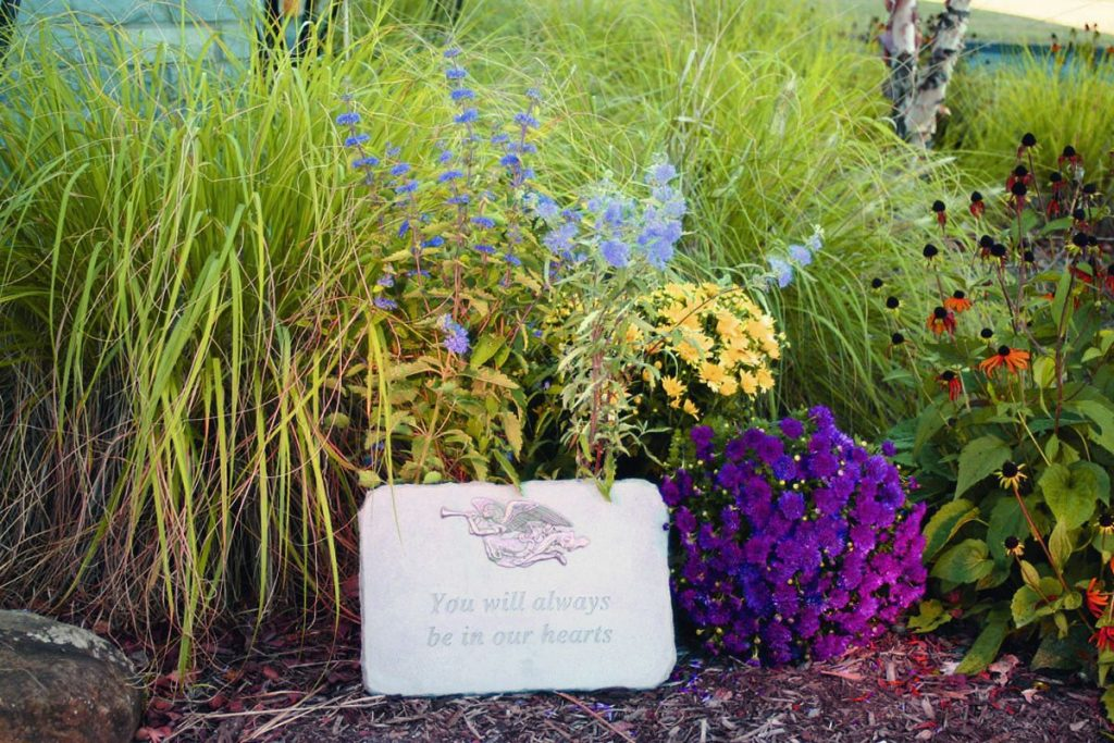 Creating a Memory Garden for a Loved One by FlowerChick.com
