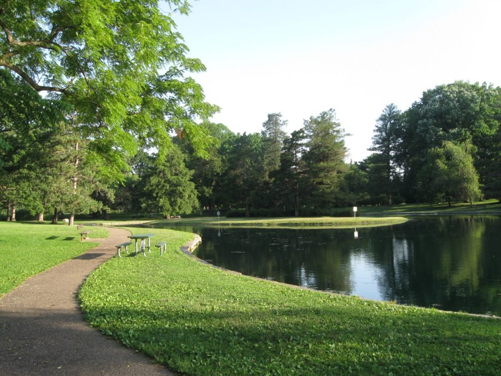 Crapo Park and Lake Starker