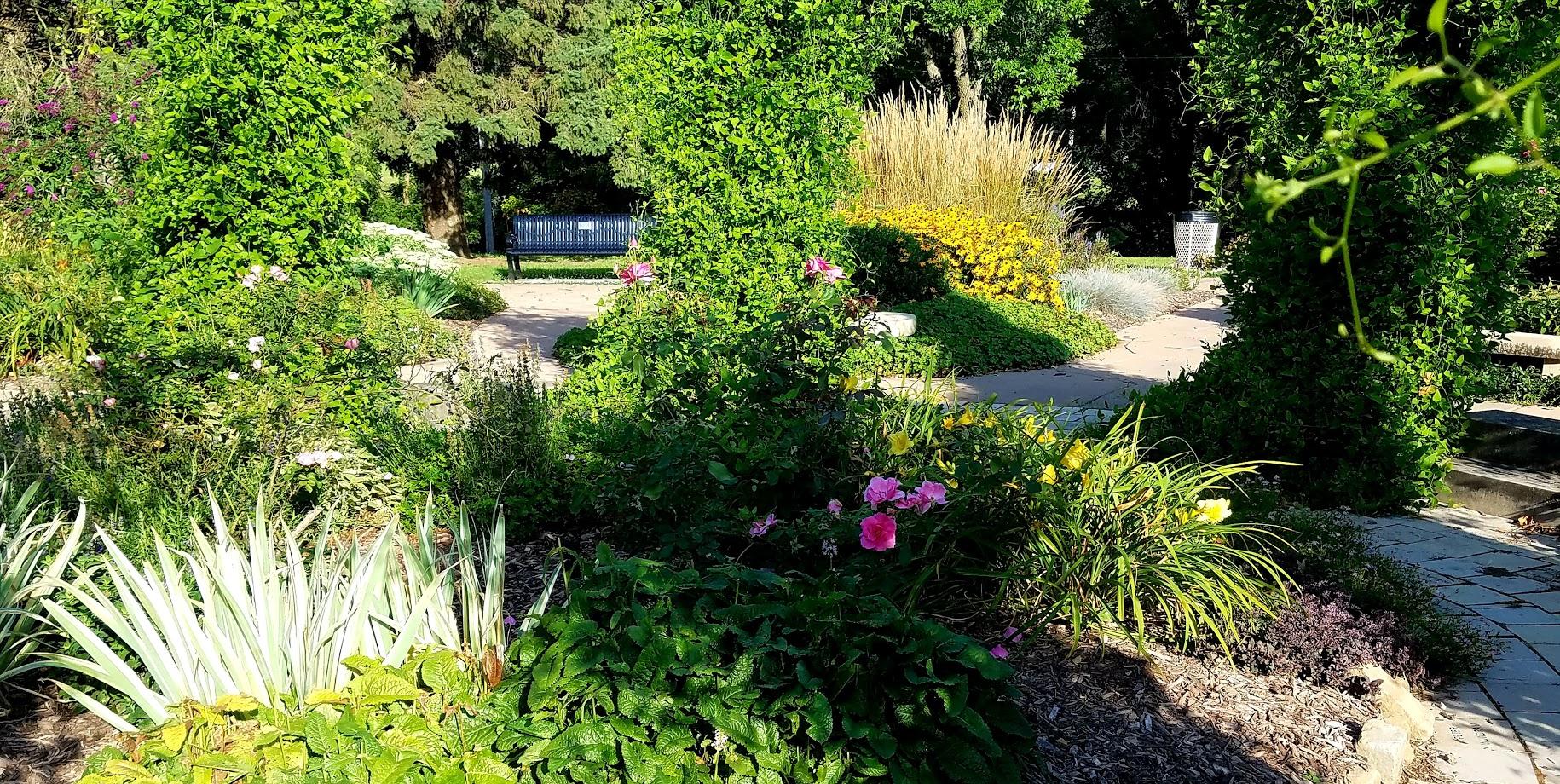 Centennial Gardens in Bettendorf Iowa by FlowerChick.com