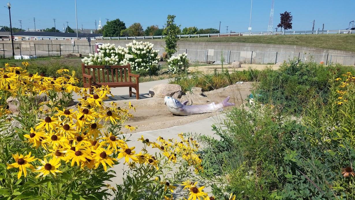 Children's Garden at QCBC by FlowerChick.com