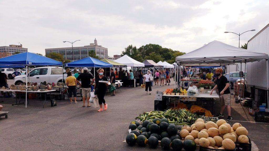Freight House Farmers Market by FlowerChick.com
