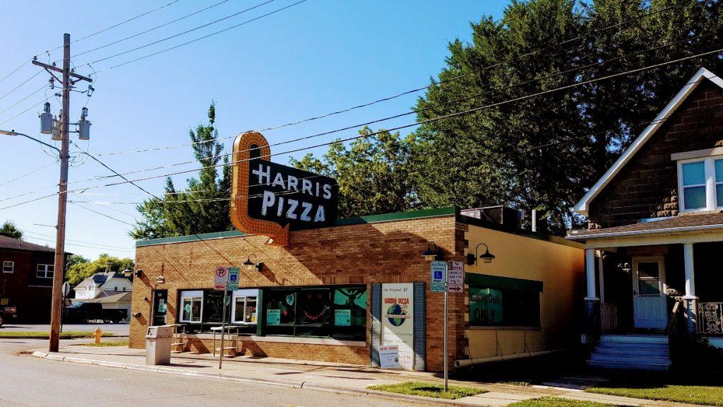 Harris Pizza By FlowerChick.com