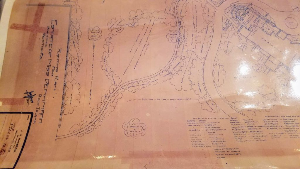 Hauberg Estate Jens Jensen Garden Plans