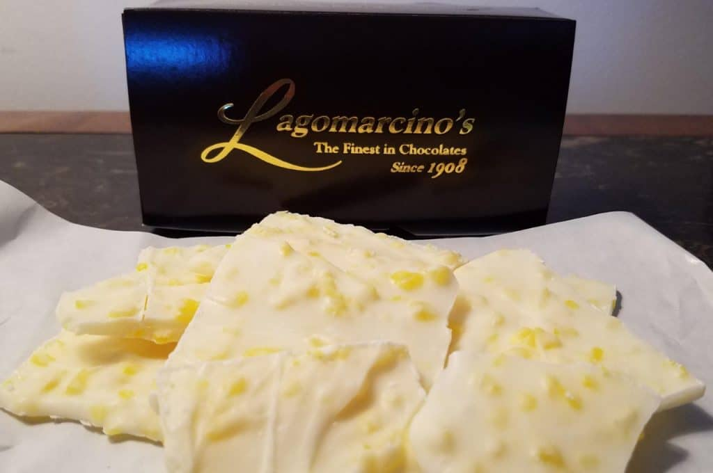 The Luscious Lemon Bark At Lagomarcino's