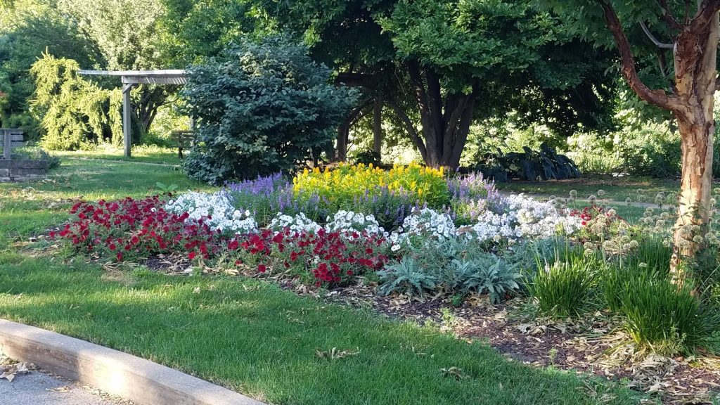 Colorful Garden at Longview Park