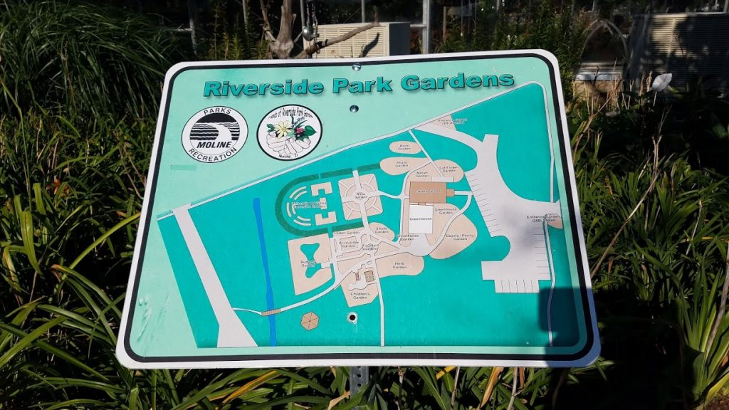 Riverside Park Gardens Sign by FlowerChick.com