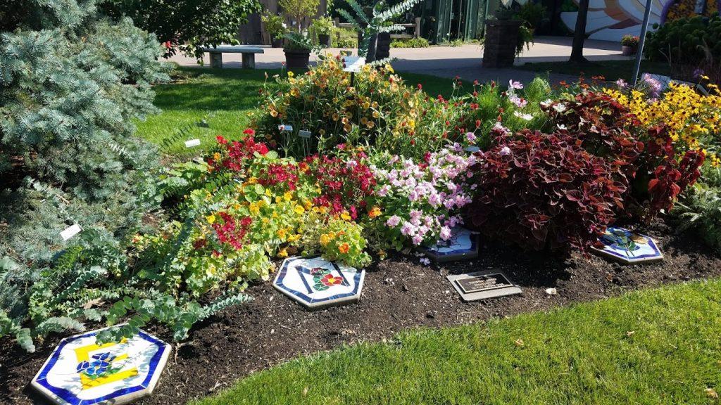 Scrambled Alphabet Garden at Quad City Botanical Center