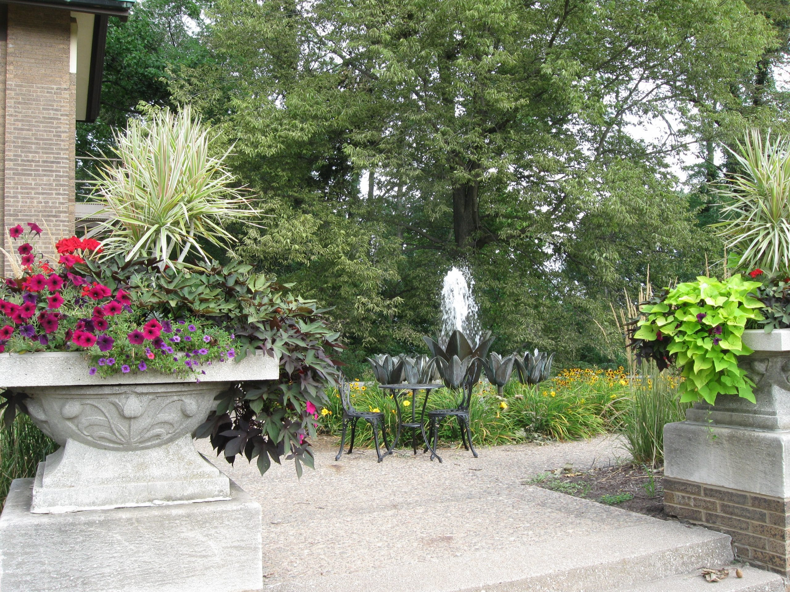 Terrace Garden at the Hauberg Estate