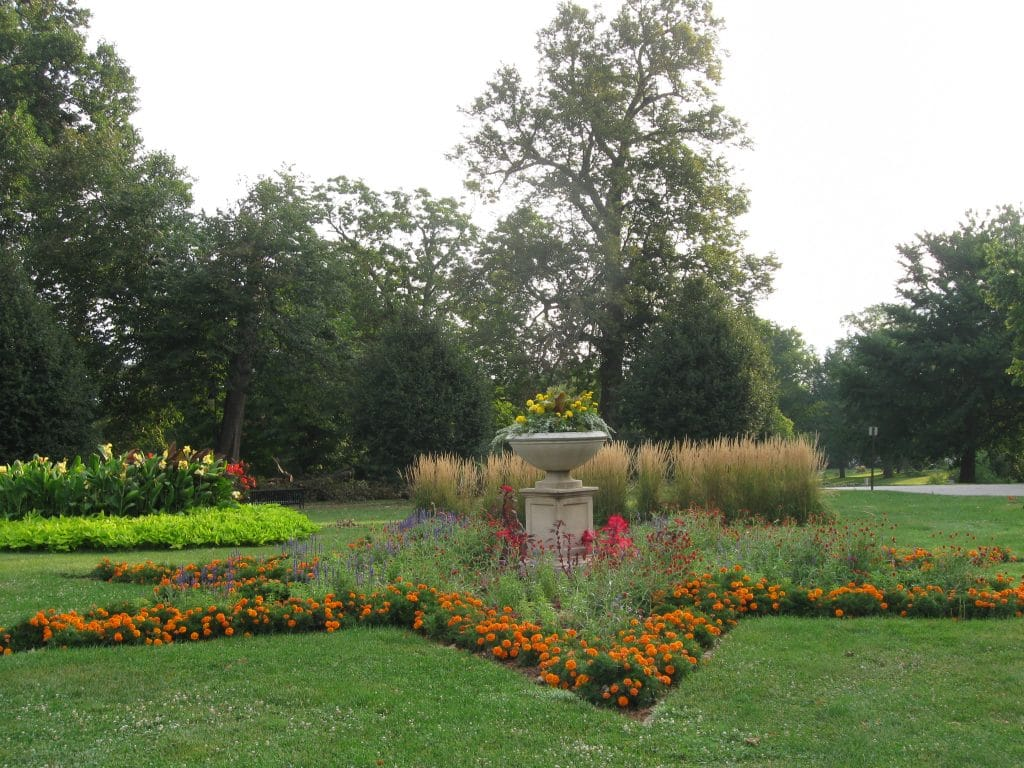 The Old World Gardens At Vander Veer Park