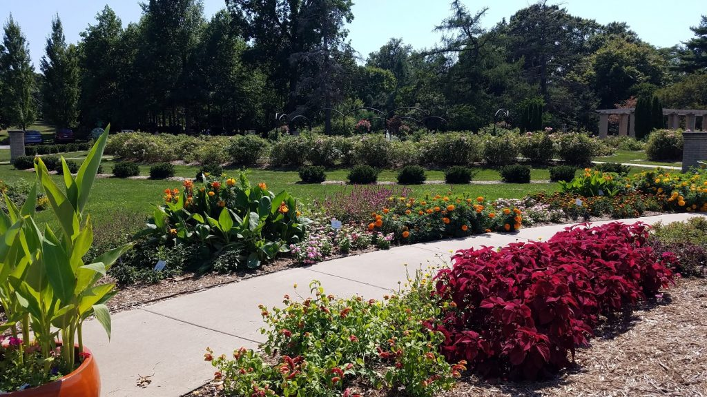 Vander Veer Park in Davenport Iowa by FlowerChick.com