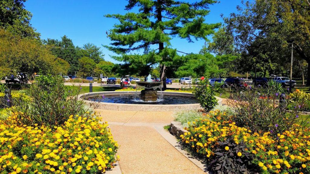 Washington Park Botanical Gardens Springfield IL