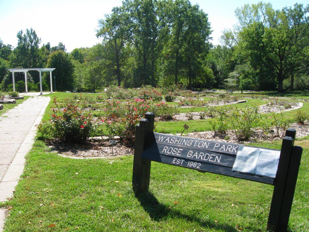 Rose Garden at Washington Park Botanical Garden by FlowerChick.com