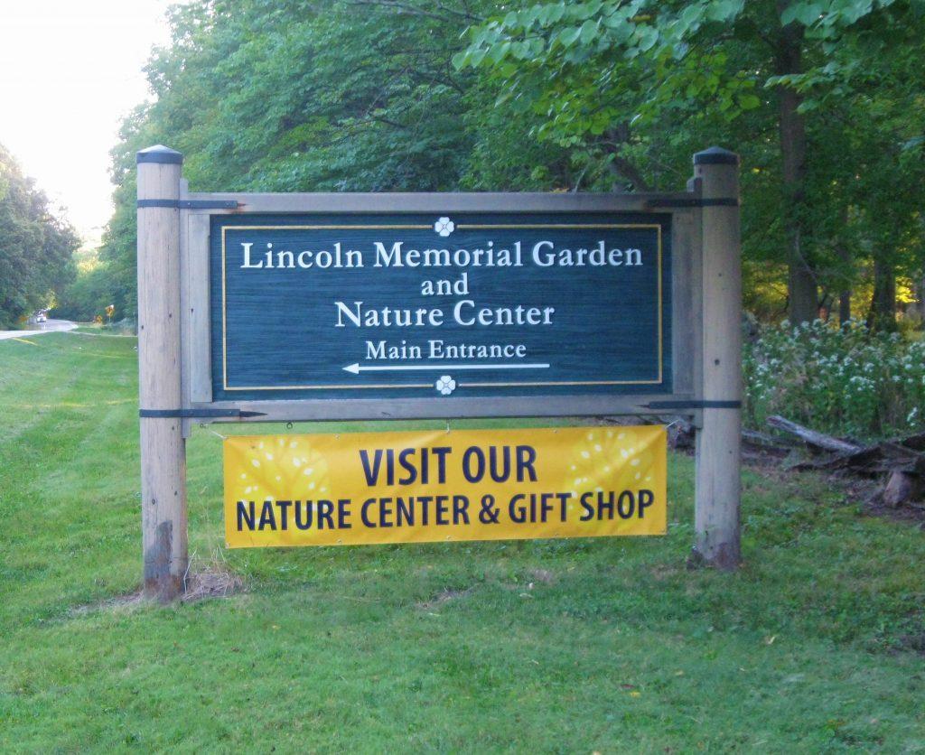 Lincoln Memorial Garden Springfield by FlowerChick.com