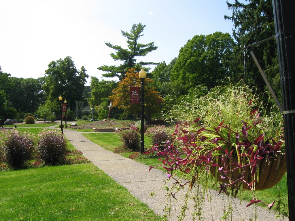 Scovill Sculpture Garden by FlowerChick.com