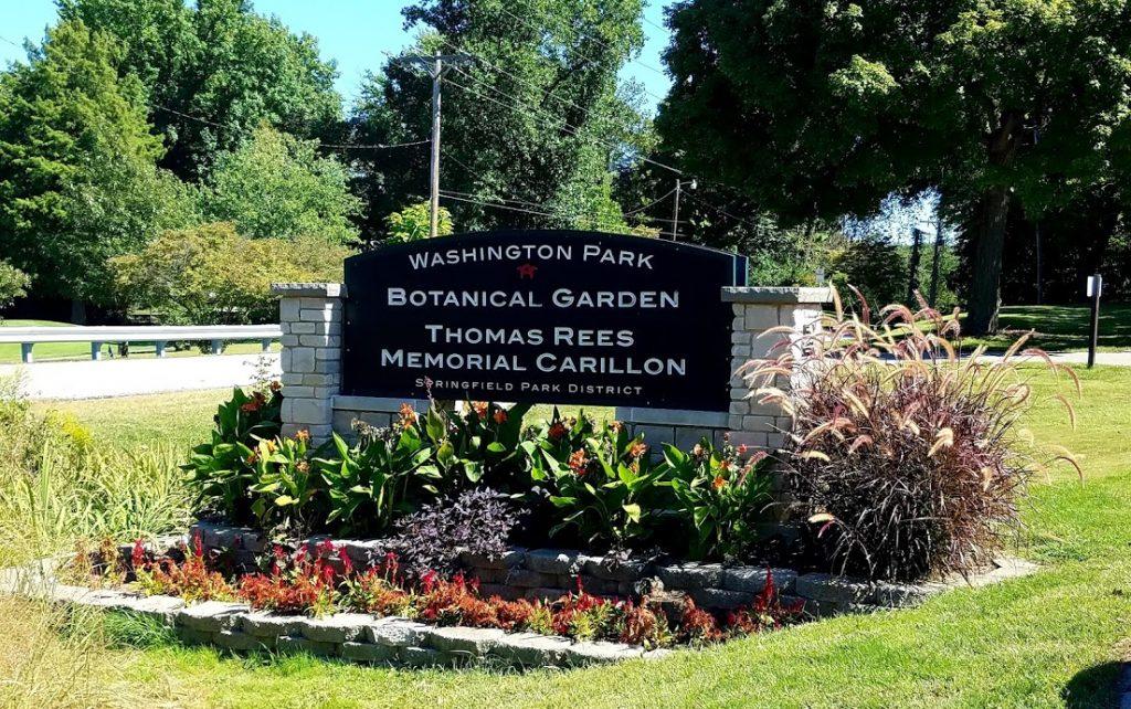 Entrance to Washington Park by FlowerChick.com