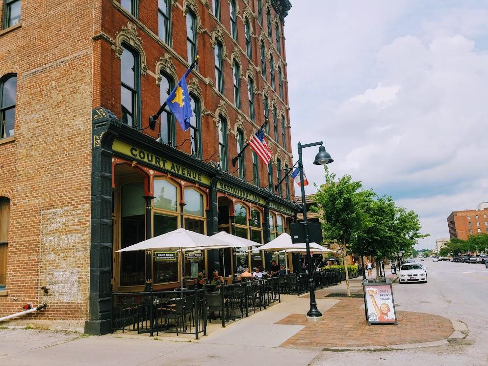 Court Avenue Bewpub Des Moines IA by FlowerChick.som