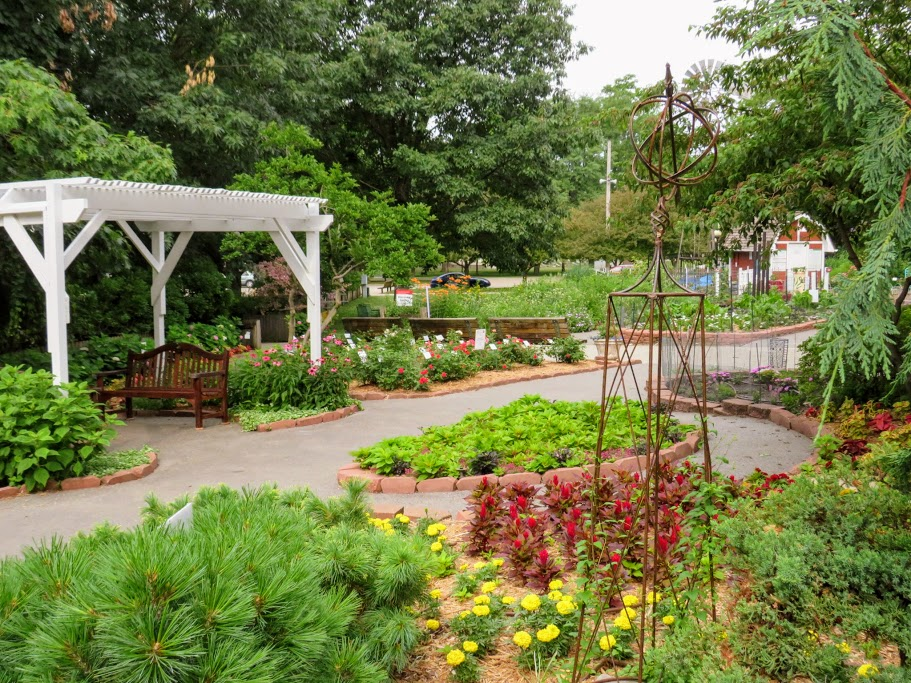 Discovery Garden at the Iowa State Fairgrounds by FlowerChick.om