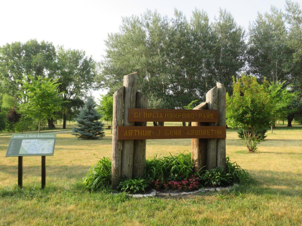 Gerk Arboretum Iowa by FlowerChick.com