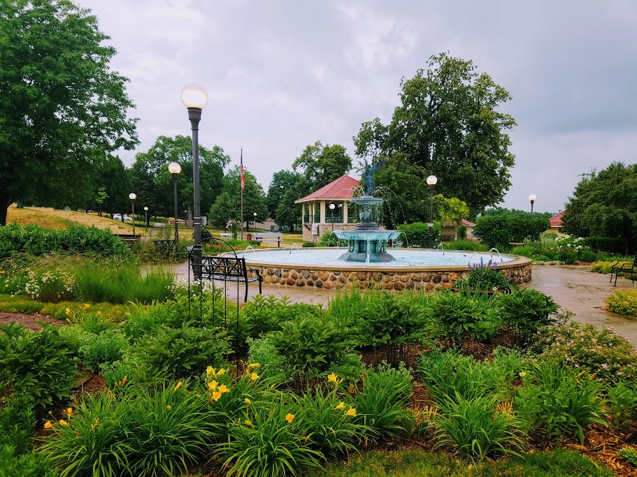 Must See German Park inDowntown New Ulm by flowerchick.com