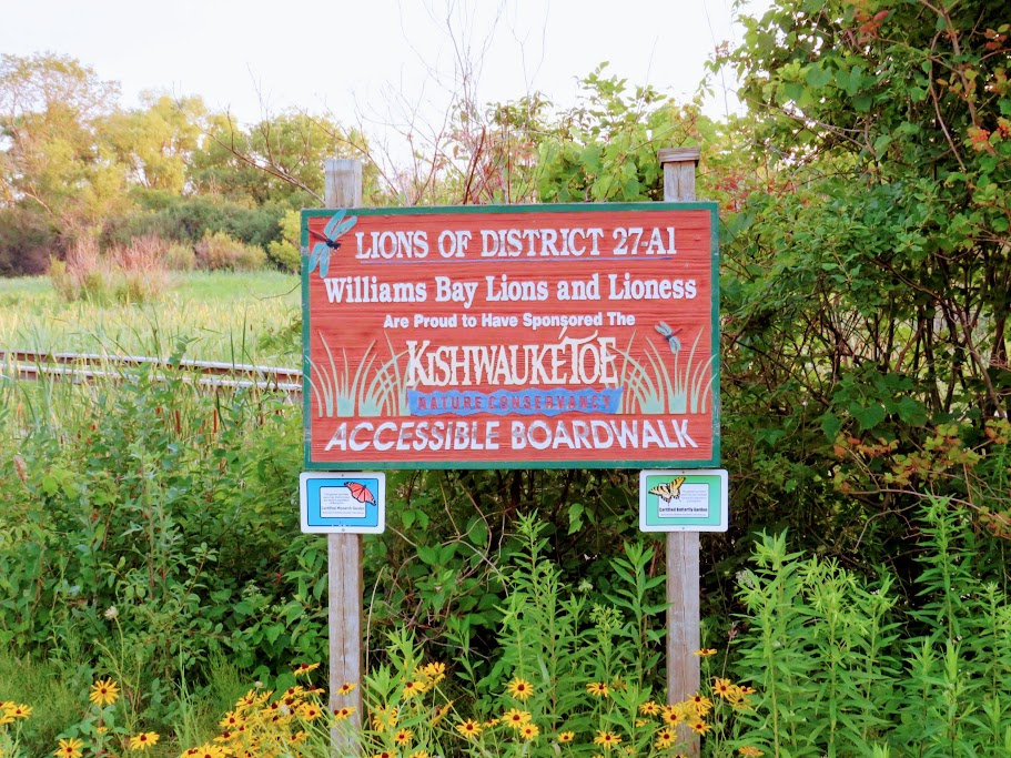 Kishwauketoe sign by FlowerChick.com