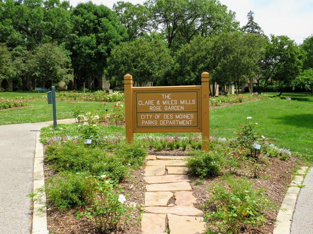 Mills Rose Garden Iowa