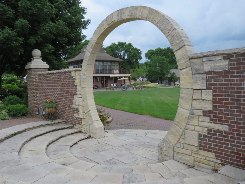 Moon Gate at Central Gardens in Clear Lake by FlowerChick.com