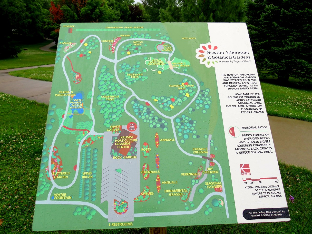 Newton Arboretum & Botanical Gardens by FlowerChick.com