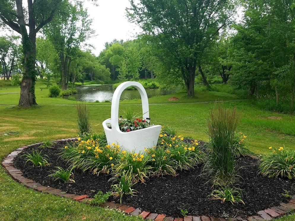 Riverside Gardens Monticello Iowa by FlowerChick.com