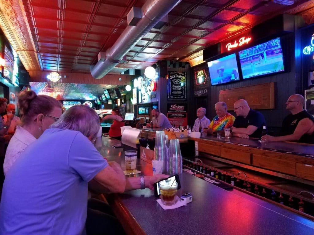Rookies Bar Clear Lake, Iowa by FlowerChick.com