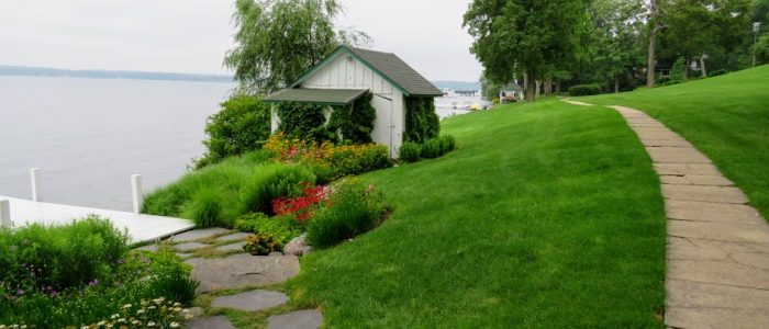 Lake Geneva Shore Path by Flower Chick.com