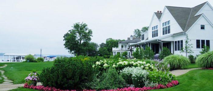 Lake Geneva Shore Path by FlowerChick.com