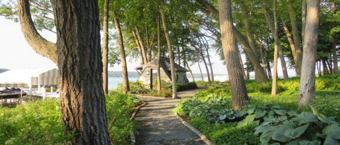Lake Geneva Shore Path Hostas by FlowerChick.com