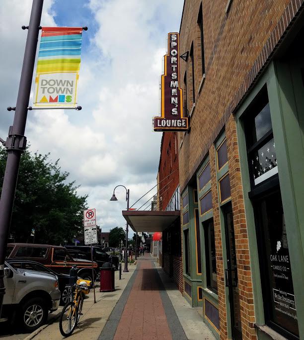 Oldest Bar in Ames Iowa Sportsmen's Lounge by FlowerChick.com