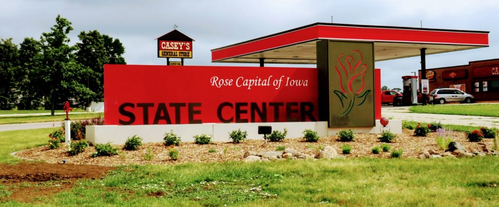 State Center Rose Capitol of Iowa by FlowerChick.com