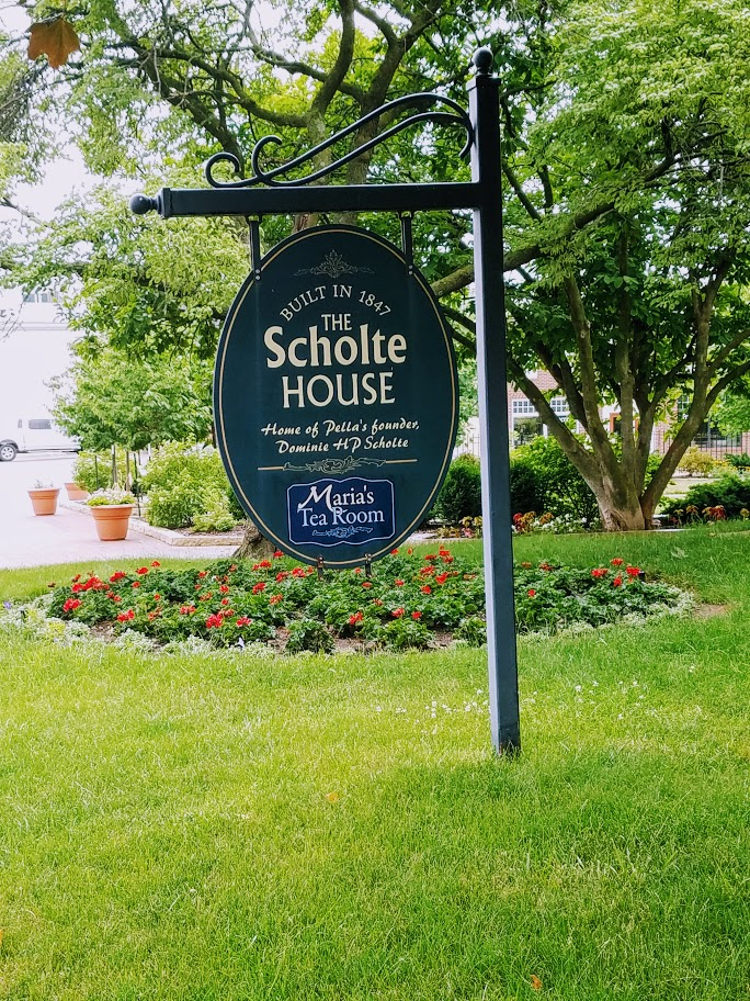 The Scholte House in Pella Iowa by FlowerChick.com