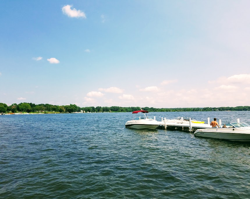Picturesque View of Lake Delavan From Lake Lawn Resort by FlowerChick.com