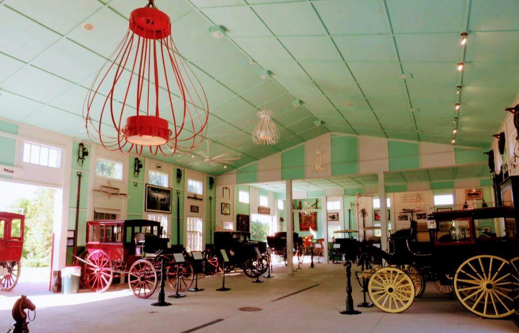 Carriage Display Mackinac Island Grand Hotel by FlowerChick.com