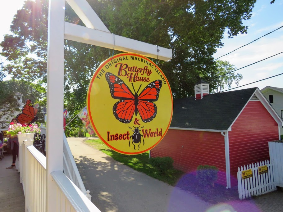 Butterfly House on Mackinac Island by Flower Chick.com